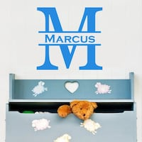 "22"" personalized wall decal.. choose color.. PayPal accepted Los Angeles, 91607"