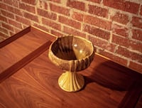 Fetching Mid-Century Modern Gold Pattern Goblet. Denver, 80211