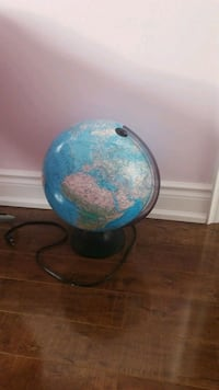 Light up geographical globe
