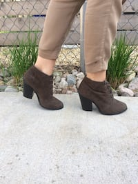 Call It Spring Brown Bootie Heels Toronto, M4W 2P4