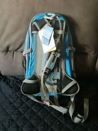blue and gray hiking backpack Toronto, M9A 3V3