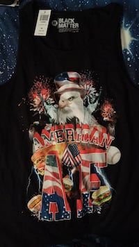 Brand new American AF tank top! Washington, 20024