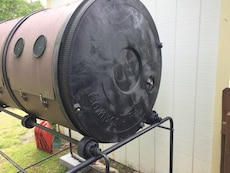 Brown And Black Barrel Composter. for sale  Crossvl, TN