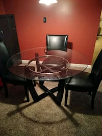 3 chairs 1 broke when I moved here Frederick, 21704
