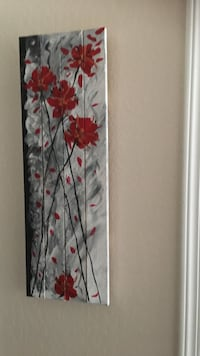 Painting of red flowers Sparks, 89431