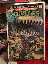 Vintage Ninja turtles comic  Richmond Hill, L4E