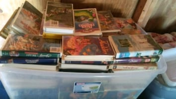 assorted vhs kids collection
