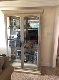 Phillips Reinsch framed glass display cabinet