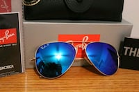 NEW!! RAY-BAN RB 3025 112/4L POLARIZED BLUE FLASH  Springfield