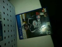 Sony PS4 Madden NFL 17 game case