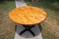 Beautiful Refinished Maple Wood Breakfast Table West Columbia, 29169