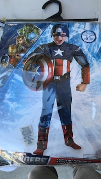Captain America costume Discovery Bay, 94505