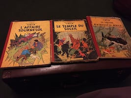 three assorted story books