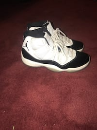 pair of white-and-black Air Jordan 11 Gaithersburg, 20882
