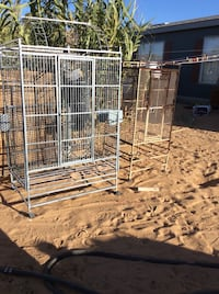 Large bird cages Apple Valley