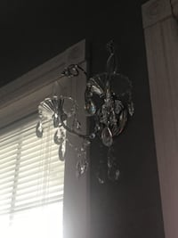 Crystal sconces, 3 available