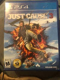 EUC ps4 Just Cause 3 game with no issues.