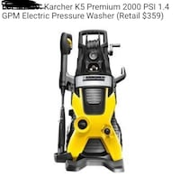 Pressure Washer 2000psi NEW IN BOX (Retail $359 (ASKING)$150 Tolleson, 85353