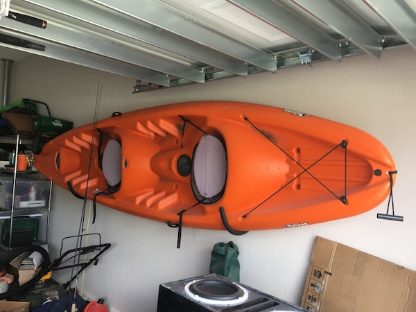Kayak Wall Hanger >> Tandem Kayak With Wall Hanger