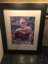 Peyton Manning Framed 16x13 Autographed picture from University of Tennessee Berkeley Heights, 07922
