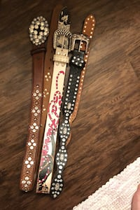 Blinged-out Belts