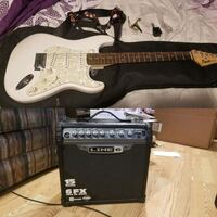 Fender Squire Strat and Spider III Line 6 Amp Alexandria, 22306