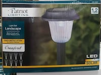 Garden Solar light brand new Mississauga, L5B 2J9
