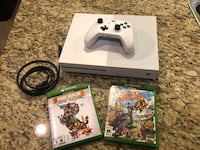 Xbox One S 1TB and 2 games Jenks, 74037