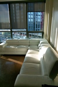 4 Piece Leather Couch