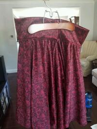 burgundy brand new skirt  Toronto, M2R 2K3