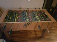 brown and green foosball table Calgary, T2V 0H5