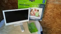 Insignia 22 Inch LCD TV Complete
