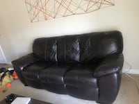 Brown Leather Couch Las Vegas, 89103