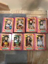The New Bright collection dolls (set of 8 for $40 total) San Rafael, 94901