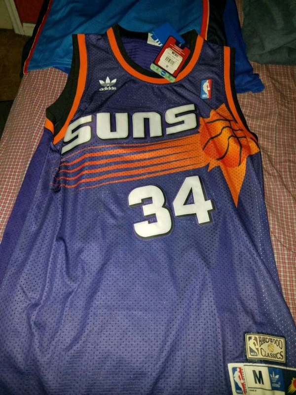 huge selection of 93788 cdc1c Charles Barkley Throwback Suns Jersey (SIZE M)