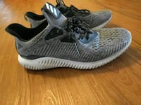ADIDAS RUNNING SHOES SIZE 10.5 GREY  Peterborough, K9H 7L7