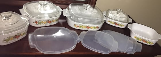 Spice of Life Corning Ware Set (13 pieces) Vintage/Retired Pattern