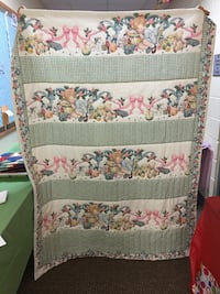 white, pink, and green floral textile Knoxville, 37938