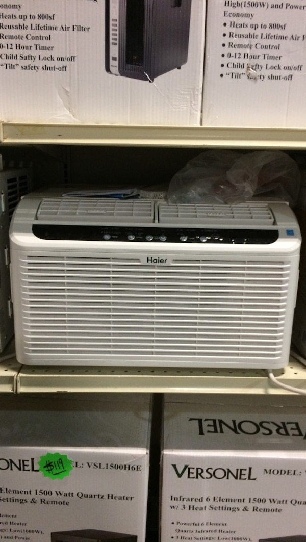 New 6050 BTU window air conditioner window a few brand-new in box with  manufacture warranty $129