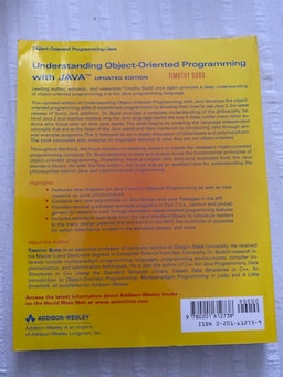Understanding Object Oriented Programming with Java 4ffe754e-abe6-4cdc-8176-d713e25f8854