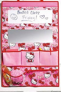 ONLY 3 LEFT HELLO KITTY HANGING ORGANIZER Colton, 92324