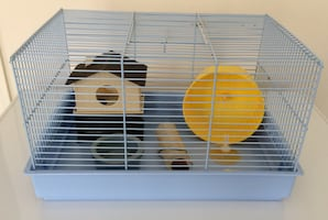 Hamster Cage, House, and Accessories For Sale