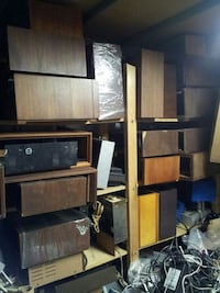 Stereo wood cabinets for McIntosh Fisher Scott vi Woodstock, 22664