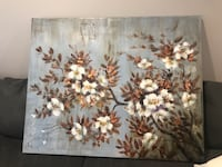 brown and white flower tree painting Gainesville, 20155