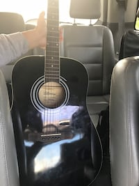 black dreadnought acoustic guitar Capitol Heights, 20743