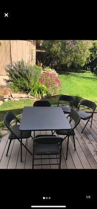 Out door and balcony set ,4 chairs with table