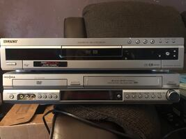 Home theater system and dvd/vhs and dvd recorder