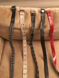 Belts $3 each or all for $10 Atwater, 95388