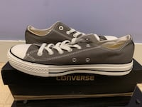 Brand new dark grey/ charcoal converse low tops Londonderry, 03053