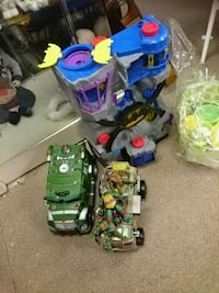 toddler's assorted plastic toys Aberdare, CF44 7DY
